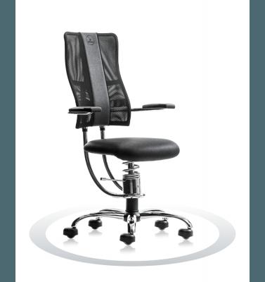 Sedia ergonomica Hacker R904 crom