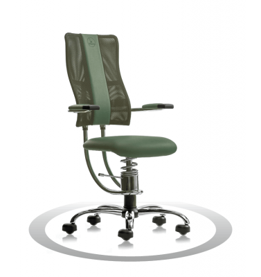 Sedia ergonomica per computer Hacker R604 crom