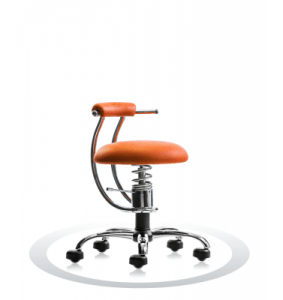 Sedia Palla Arancione R201 Crom