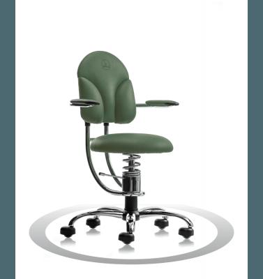 Sedie da ufficio ergonomiche R604 crom