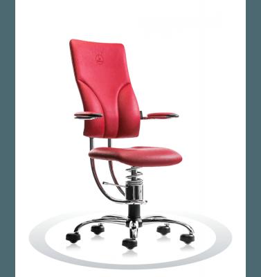 Sedie ergonomiche per ufficio R303 crom