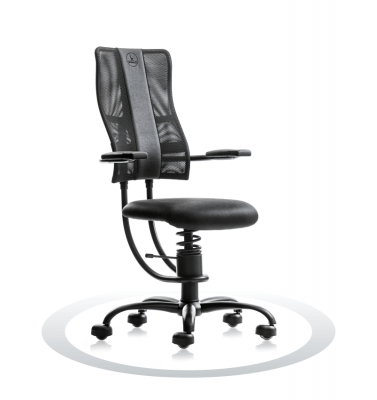 Sedia computer ergonomica SpinaliS Hacker R904
